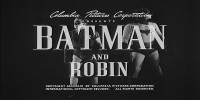 Batman et Robin (The New Adventures of Batman and Robin, the Boy-Wonder)