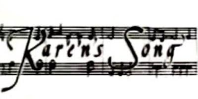 Karen's Song